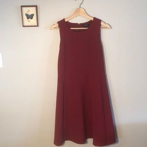Red Madewell dress size 6